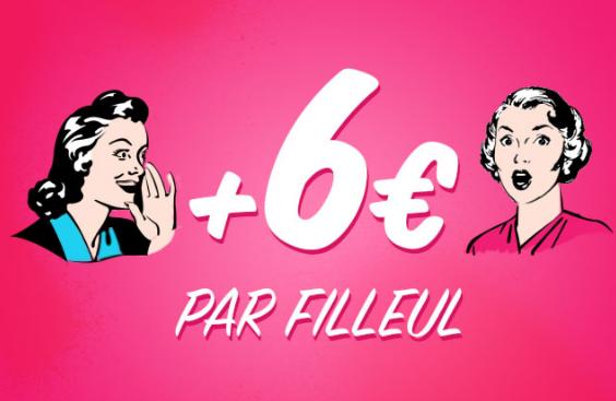le programme de parrainage rémunérateur de shopmium : gagner 6€